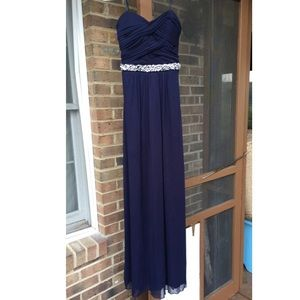Navy Pageant/Prom Dress